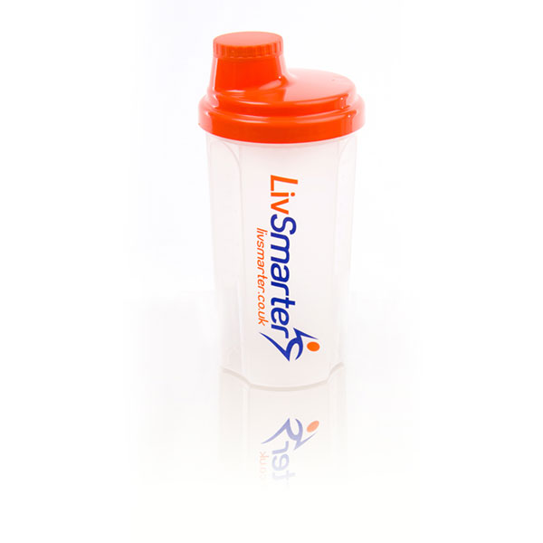 Shaker Bottle Design for LivSmarter