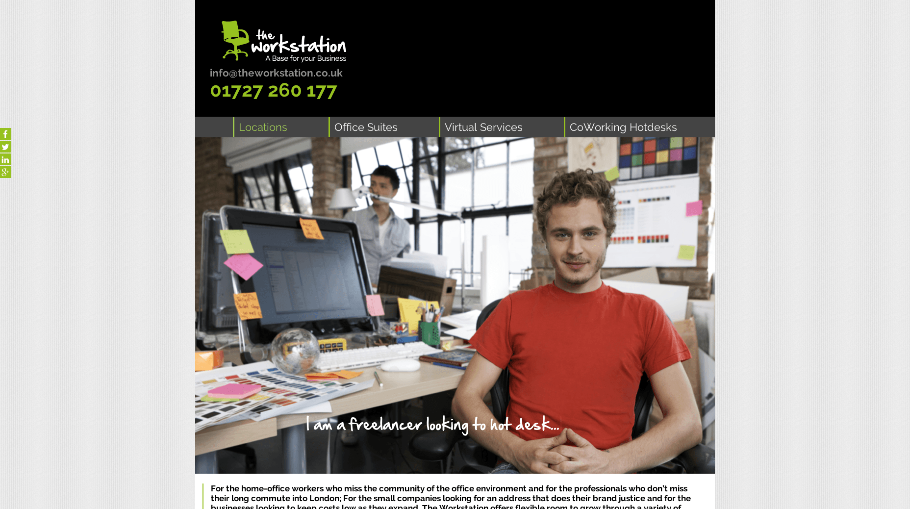 The Workstation – A base for your business