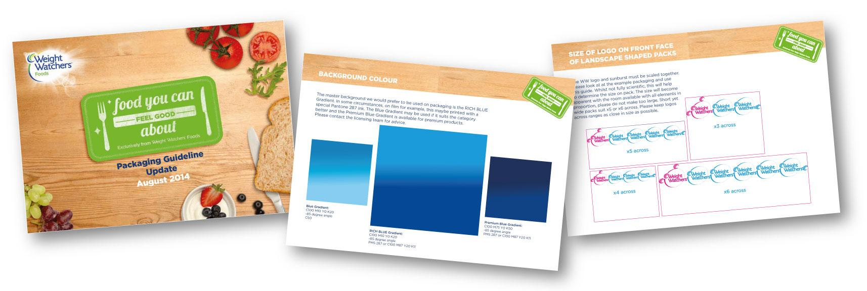 Weight Watchers – Packaging Guidelines