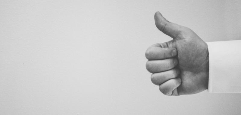 Thumbs up - Facebook changes blog