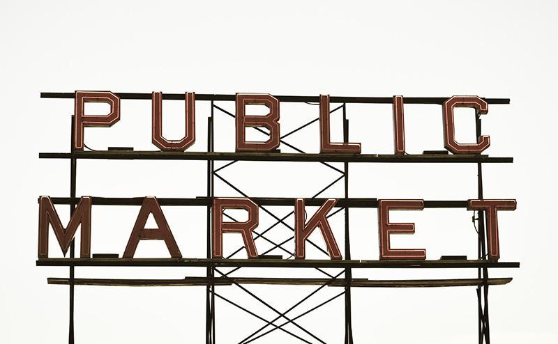 Public Market sign - Facebook marketplace blog