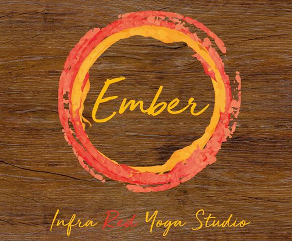 Ember Infra Red Yoga Studio in Hampton Hill - Logo design