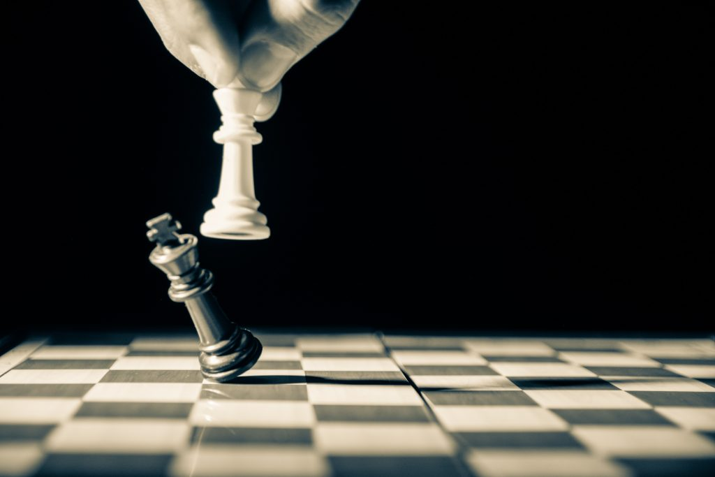 King takes King in chess